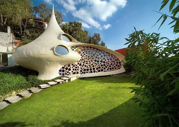 дом улитка сеносиан биоархитектура