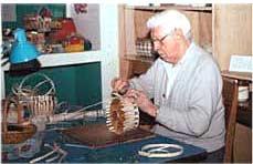 изготовление корзин, мебели из ивы