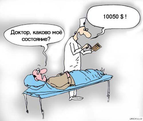 медицина бизнес ложные диагнозы