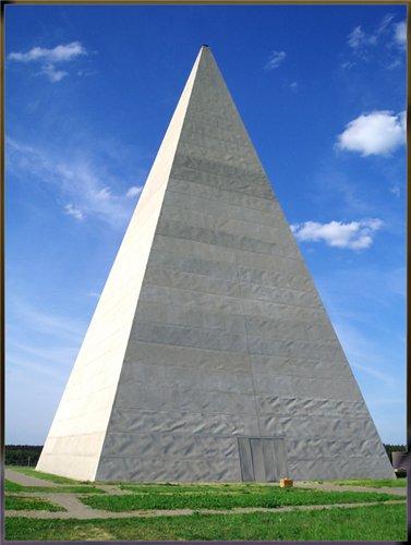 пирамида в пропорции золотого сечения