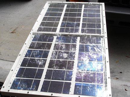 Законченная солнечная батарея