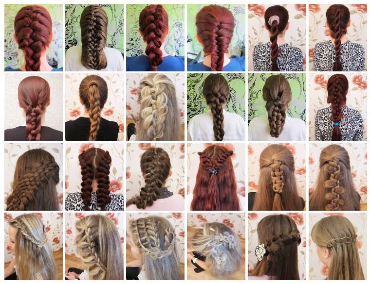 как плести косы плетение