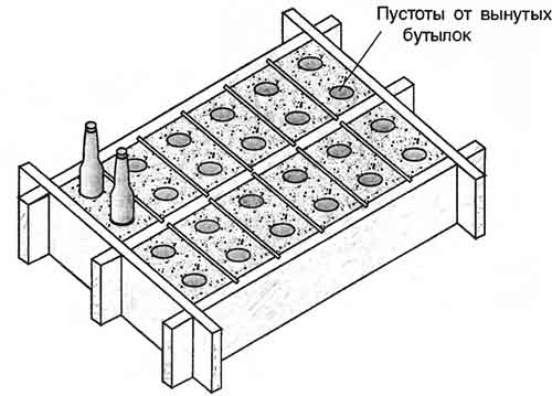 форма для шлакоблока