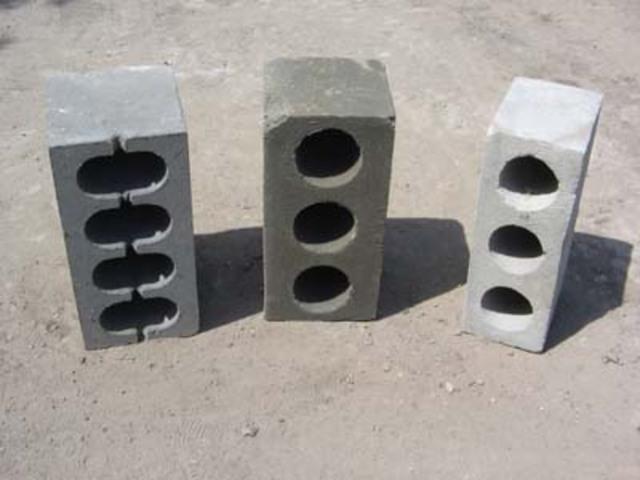 строительные блоки - шлакоблоки